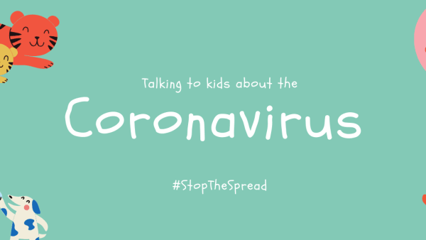 Talking to kids about the coronavirus